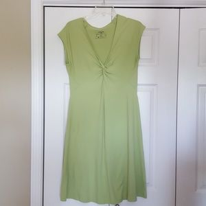 Patagonia lime green dress